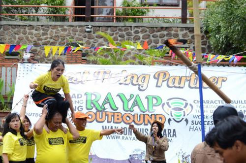 Outbound di Batu BP PAUD Manado
