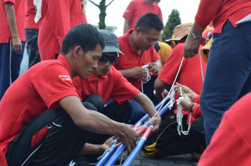 Outbound di Batu BPPAUD
