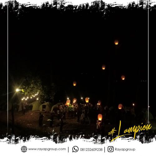 Rayap Outbound Lampion